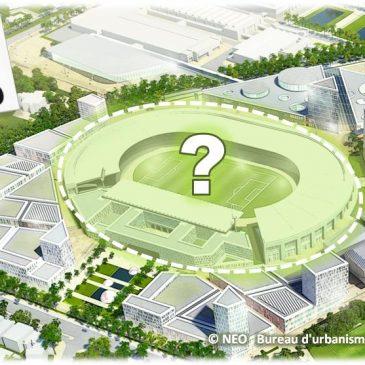Le nouveau stade de foot : on coupe le projet en morceaux pour nier les nécessaires contributions publiques à son financement !