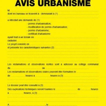 Simplifier les démarches pour l'obtention d'un permis d'urbanisme #votenagy70