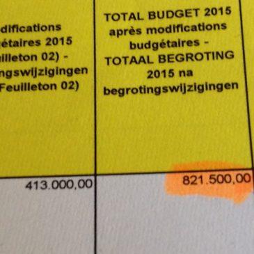 Le nouveau stade: 1.150.000 euros de frais d'études juridiques sans marché public.