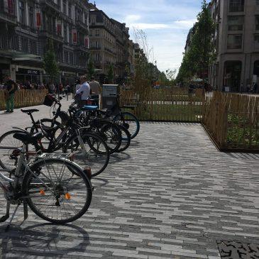 Un plan vélo pour la Ville de Bruxelles: développer un réseau maillé de pistes et itinéraires vélo.